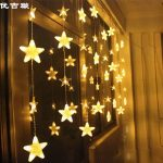 Twinkle Star Outdoor String Lights Led