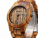 Mens Wooden Wrist Watch