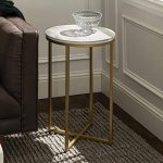 Accent Marble Side Table