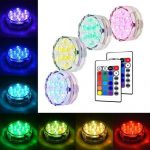 Waterproof RGB LED Accent Lights
