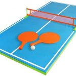 Floatable Ping Pong Table